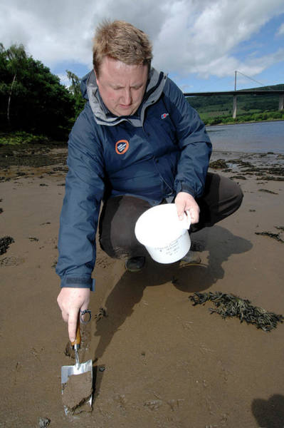 Trowel Photograph - Environmental Monitoring by Public Health England