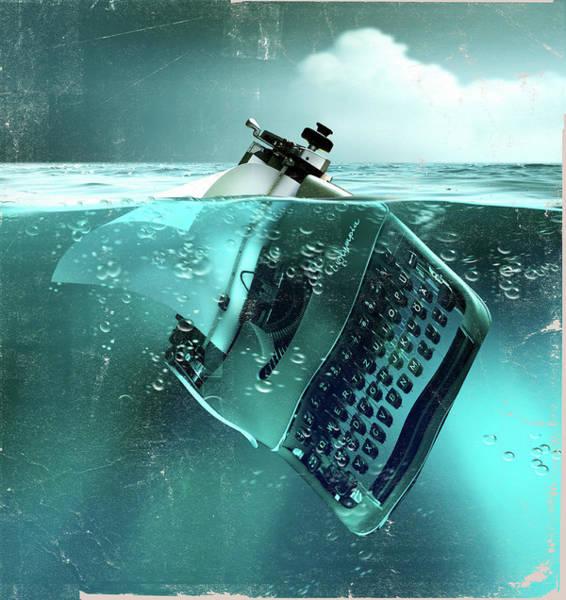 Drown Photograph - Environmental Writing by Smetek