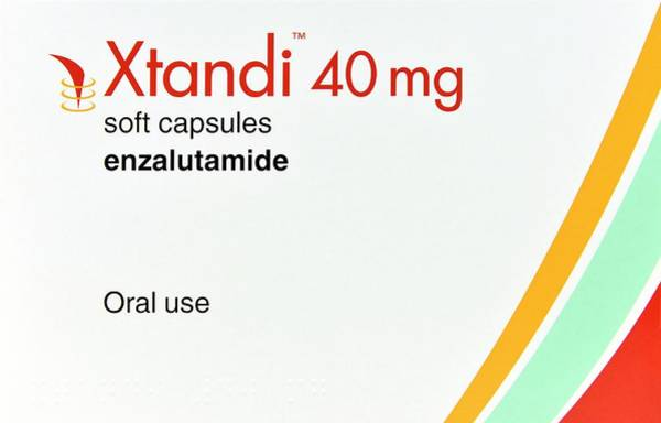 Branding Photograph - Enzalutamide Prostate Cancer Drug by Dr P. Marazzi/science Photo Library