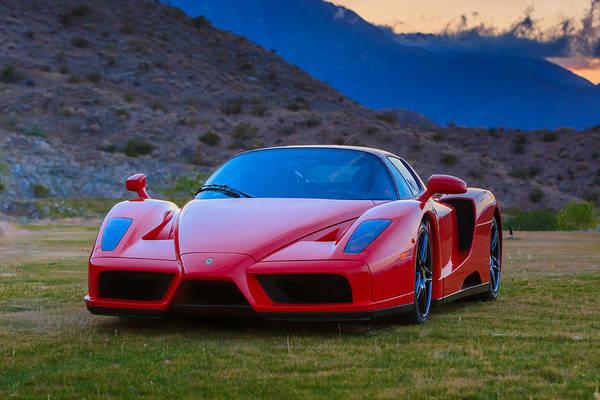 Photograph - Enzo Ferrari Bold by Scott Campbell