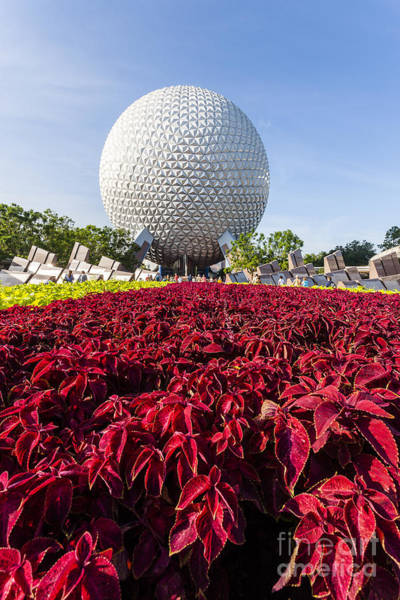 Photograph - Epcot Spaceship Earth by Andy Myatt
