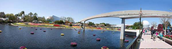 Wall Art - Photograph - Epcot Panorama by Thomas Marchessault