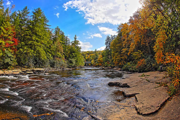 Swallow Falls State Park Wall Art - Photograph - Ephemeral Moments On Youghiogheny River by SCB Captures