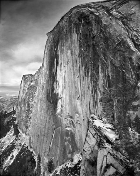 Photograph - 406716 Epic Bw Half Dome 1967 by Ed  Cooper Photography