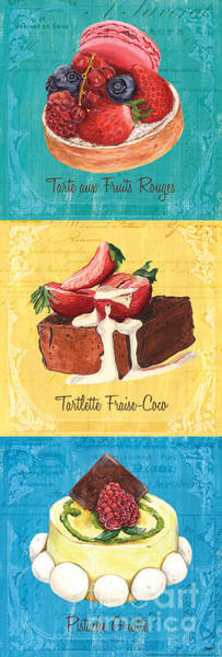 Bakery Painting - Epicerie Panel 1 by Debbie DeWitt