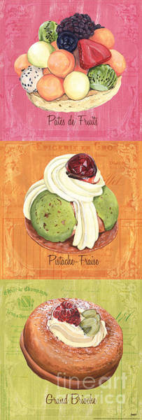 Bakery Painting - Epicerie Panel 2 by Debbie DeWitt