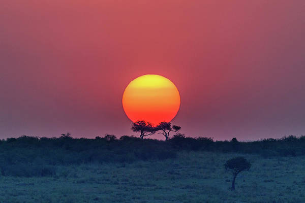 Wall Art - Photograph - Equatorial Sunset by Jeffrey C. Sink