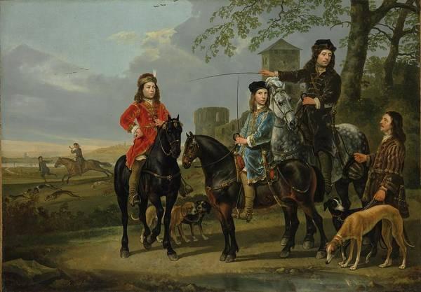 Aelbert Cuyp Painting - Equestrian Portrait Of Cornelis by Aelbert Cuyp