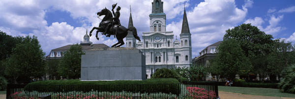 Wall Art - Photograph - Equestrian Statue In Front by Panoramic Images