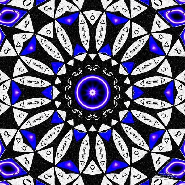 Drawing - Equinox Zodiac K1 by Derek Gedney