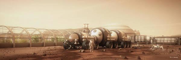 Space Exploration Digital Art - Equipment Portrait by Bryan Versteeg