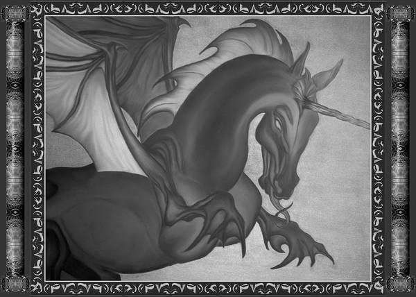 Digital Art - Equus Draco Unicornis by Robert Kernodle