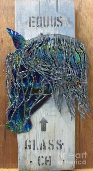 Glass Art - Equus Glass Co. by Sherri Anderson