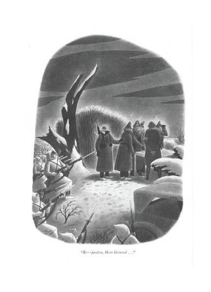 Hitler Drawing - Er - Pardon by Richard Taylor