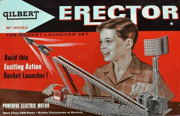 Photograph - Erector Set by Ricardo J Ruiz de Porras