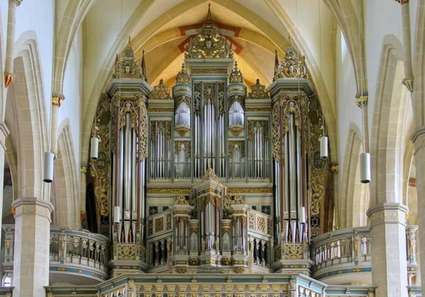Photograph - Erfurt Pipe Organ by Jenny Setchell