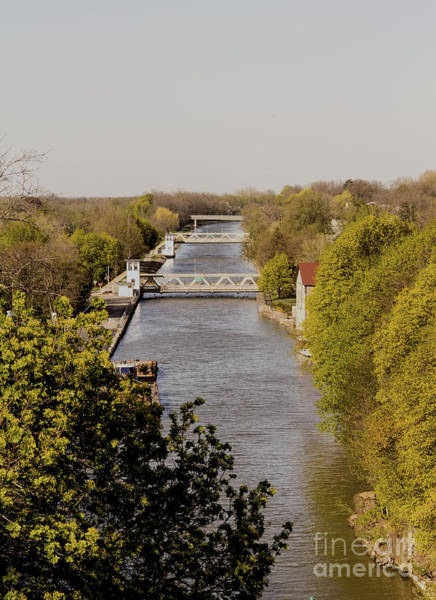 Photograph - Erie Barge Canal by Jim Lepard