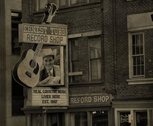 Photograph - Ernest Tubb Record Shop by Dan Sproul