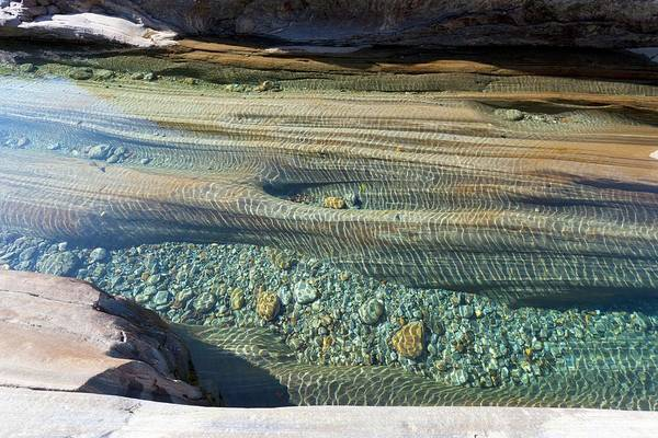 Eroded Photograph - Eroded River Bed by Dr Juerg Alean/science Photo Library