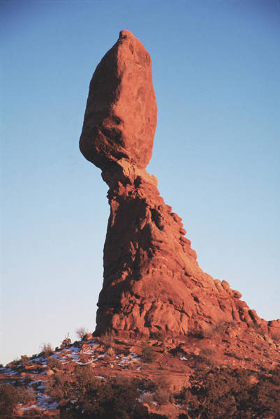 Eroded Wall Art - Photograph - Eroded Rock Pillar by Tony Craddock/science Photo Library