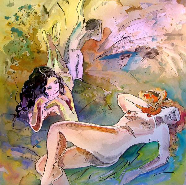Painting - Eroscape 1201 by Miki De Goodaboom