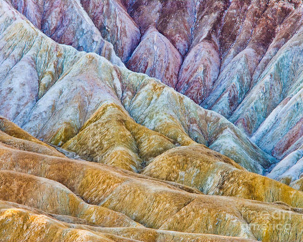 Death Valley Np Photograph - Erosion by Don Hall