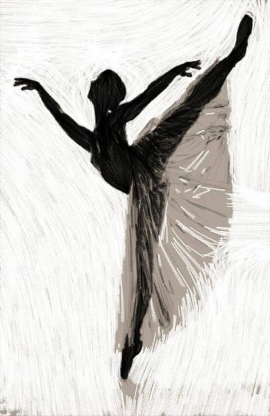 Lingery Wall Art - Painting - Erotic Ballet by Steve K