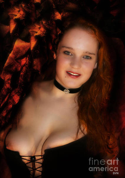 Wall Art - Photograph - Erotic Portrait 875b by The Hybryds