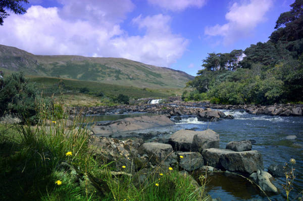 Wall Art - Photograph - Erriff River At Aasleagh Falls. by Terence Davis