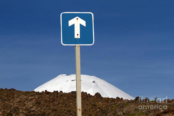 Straight Ahead Wall Art - Photograph - Erupt This Way by James Brunker