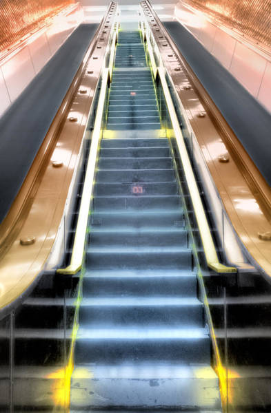 Escalator To Heaven Art Print