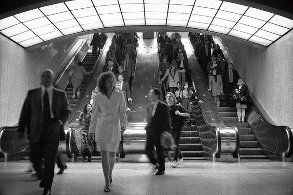 Photograph - Escalators Grand Central by Dave Beckerman