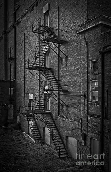 Relics Photograph - Escape Route by Medicine Tree Studios