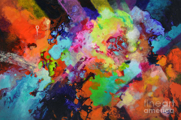 Painting - Escape Velocity by Sally Trace