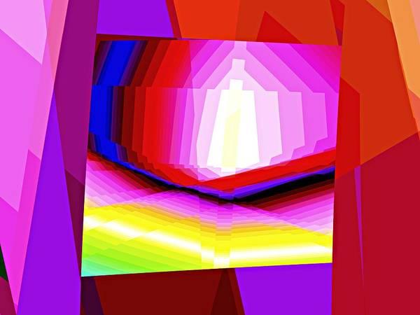 Elation Digital Art - Escaping Detail by Kenneth Keller