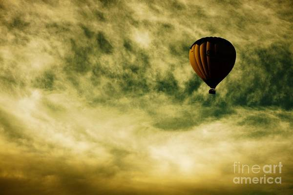 Hot Air Balloons Photograph - Escapism by Andrew Paranavitana