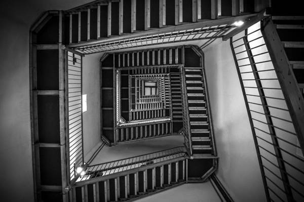 Stairs Wall Art - Photograph - Escher by Kristopher Schoenleber