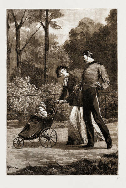 Duty Drawing - Escort Duty, 1881 by Litz Collection