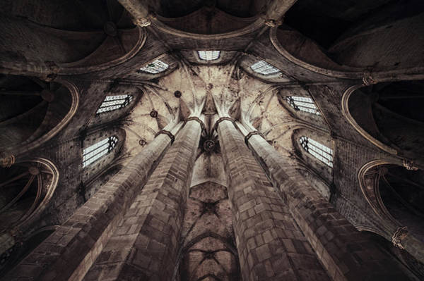 Domes Wall Art - Photograph - Esglesia De Santa Maria Del Mar by Martin Marcisovsky