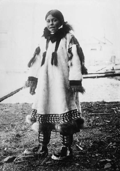 Photograph - Eskimo Girl by Granger