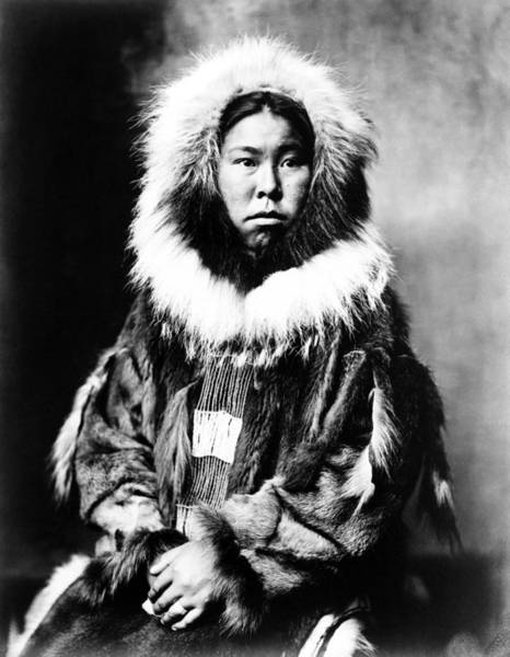 Photograph - Eskimo Woman, C1903 by Granger