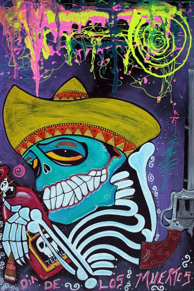 Wall Art - Painting - Espiritu Del Tequila 2 by Laura Barbosa