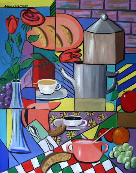 Painting - Espresso by Anthony Falbo