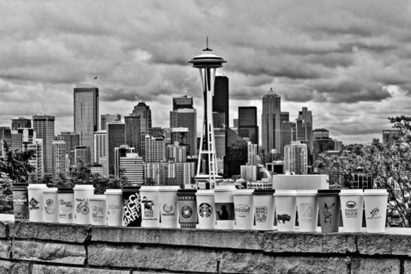 Wall Art - Photograph - Espresso City by Benjamin Yeager