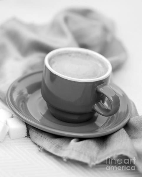 Wall Art - Photograph - Espresso In Black And White by Iris Richardson