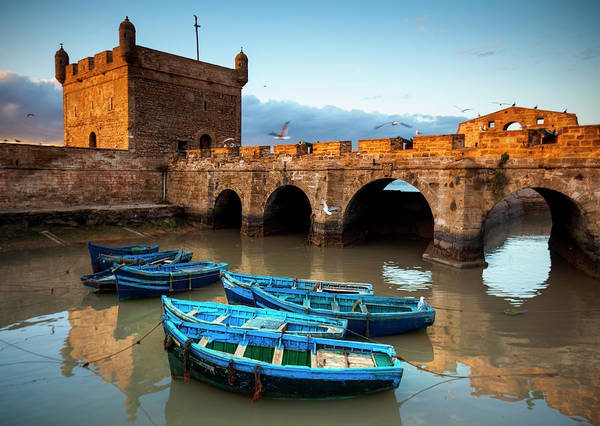 Casbah Photograph - Essaouira, Morocco The Ramparts Of by Nicolamargaret