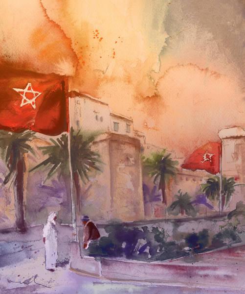 Painting - Essaouira Town 03 by Miki De Goodaboom