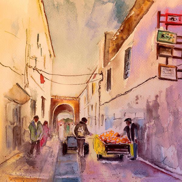 Wall Art - Painting - Essaouira Town 05 by Miki De Goodaboom