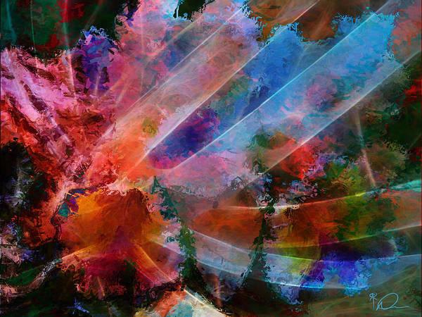 Essence Digital Art - Essence Of Iris by David Derr