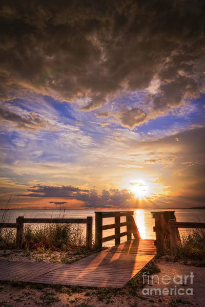Boardwalk Photograph - Essence Of Light by Marvin Spates